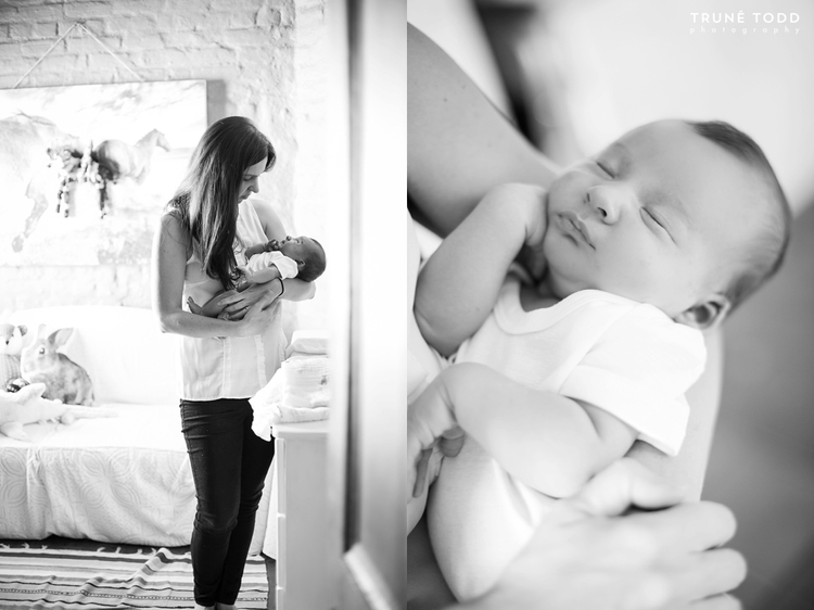 Cape Town newborn Photographer - Baby Rocco